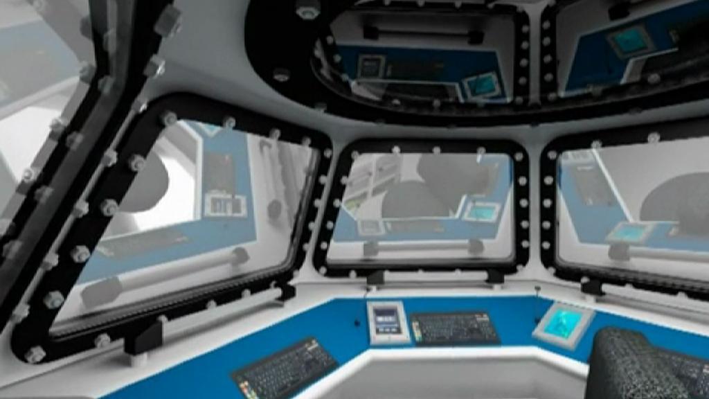 Vizualizace Hydronautu