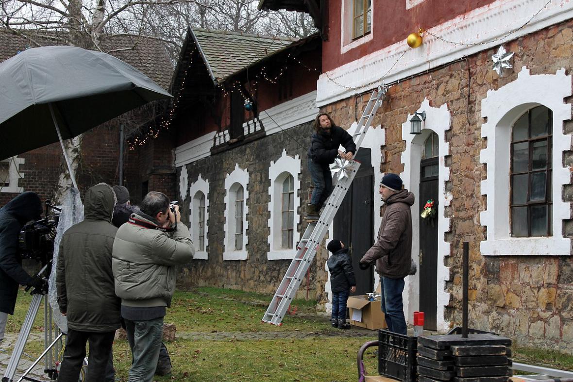 Natáčení seriálu Znamení koně II (Richard Krajčo)