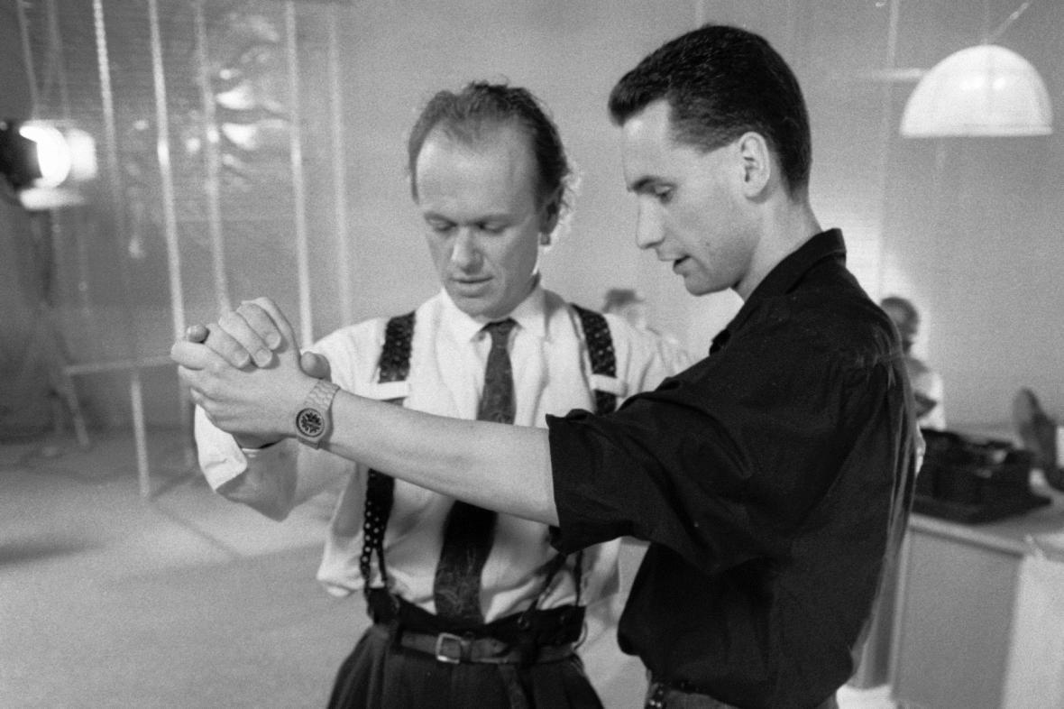 Jiří Korn a Richard Hes, 1988