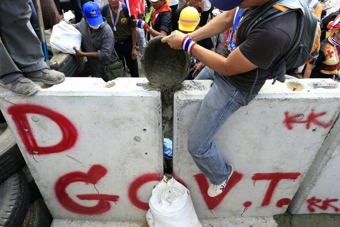 Demonstrace v Bangkoku