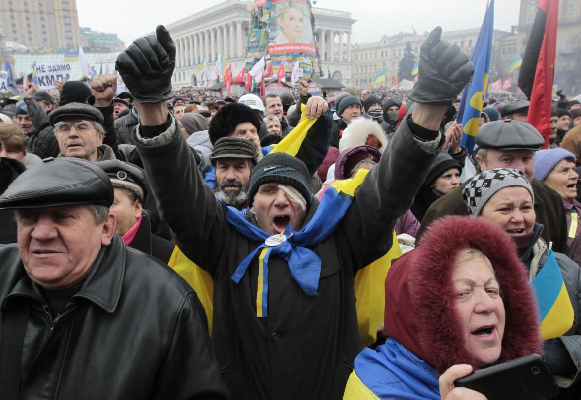 Ukrajinský protest