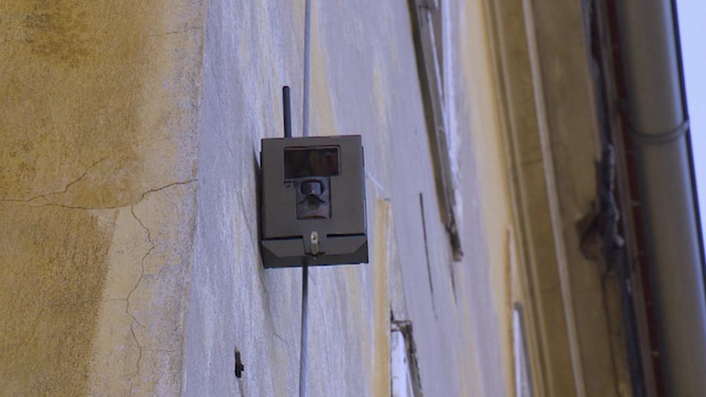 Fotopast chrání městský majetek