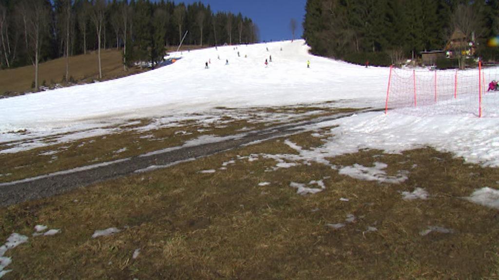České hory trápí nedostatek sněhu