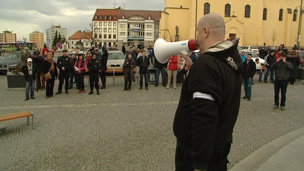 Protest v Příbrami