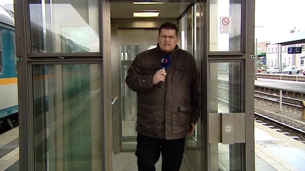 V Marktredwitz mohou cestující využít výtah