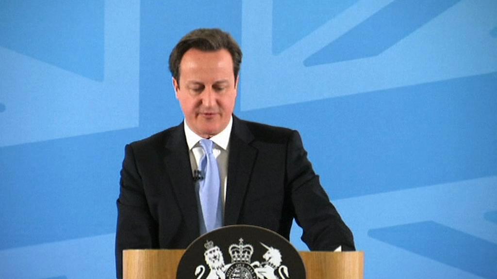 Přitvrdíme vůči přistěhovalcům, slibuje Cameron