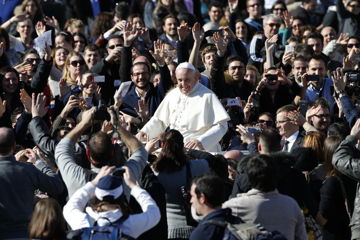 Papež František ve Vatikánu