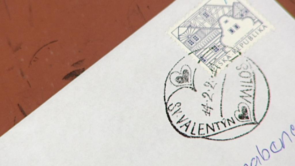 Razítko z pošty v Milostíně