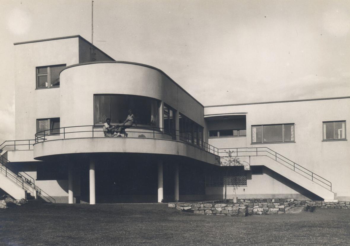 Heinrich Lauterbach - Jablonec nad Nisou, vila Jaroslava a Zdeňky Haškových