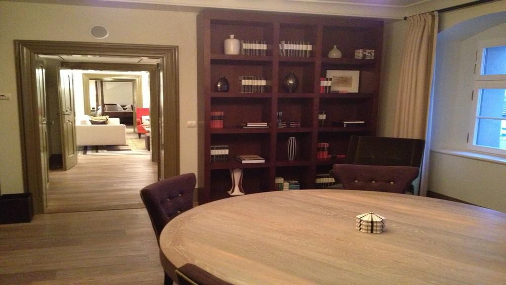 Interiér prezidentského apartmá