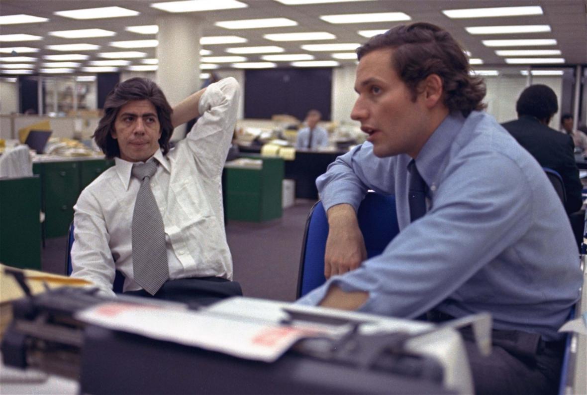 Carl Bernstein a Bob Woodward - díky Watergate dvě nejslavnější jména Washington Post