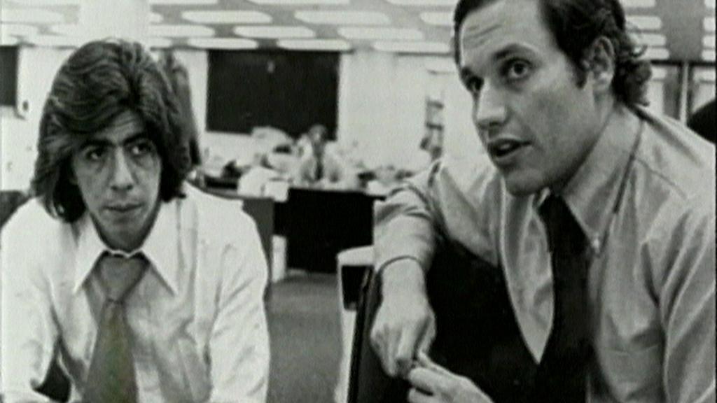 Carl Bernstein a Bob Woodward v 70. letech