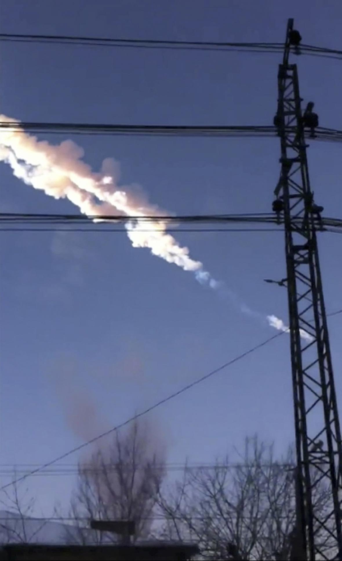 Pád meteoritu u Čeljabinsku