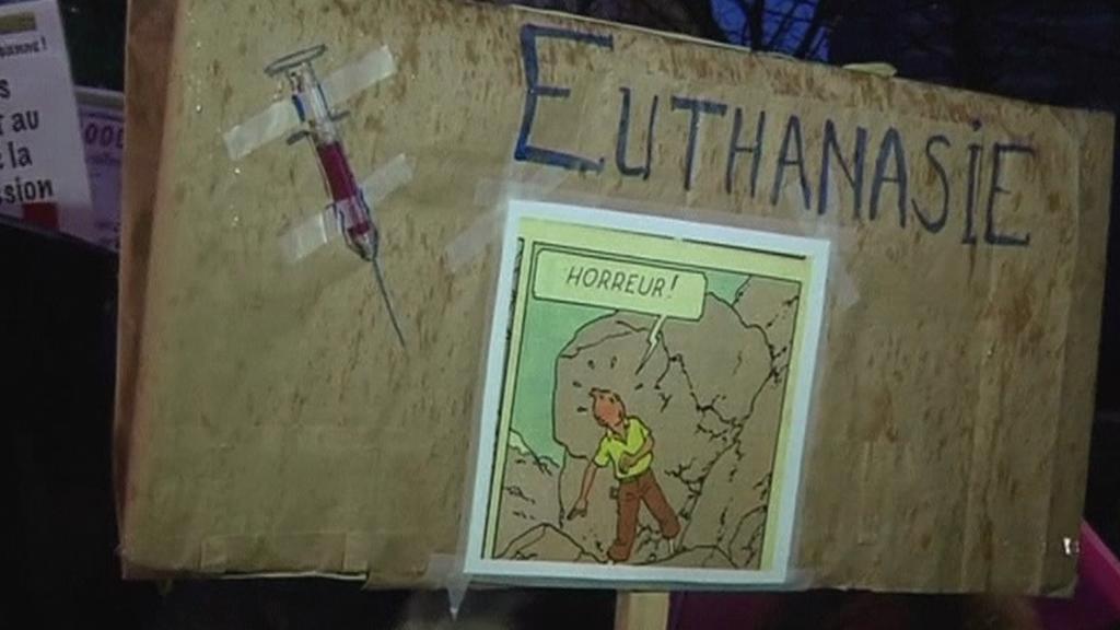 Belgický protest proti dětské eutanazii