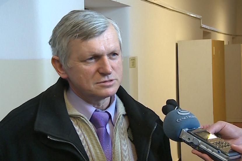 Starosta obce Lopeník Antonín Dulínek (nez.)