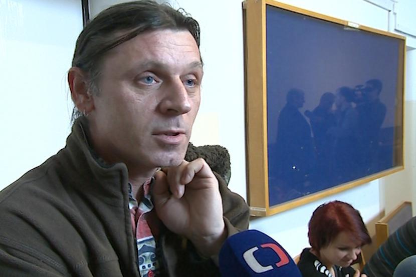 Otec mrtvé dívky Břetislav Čaňo