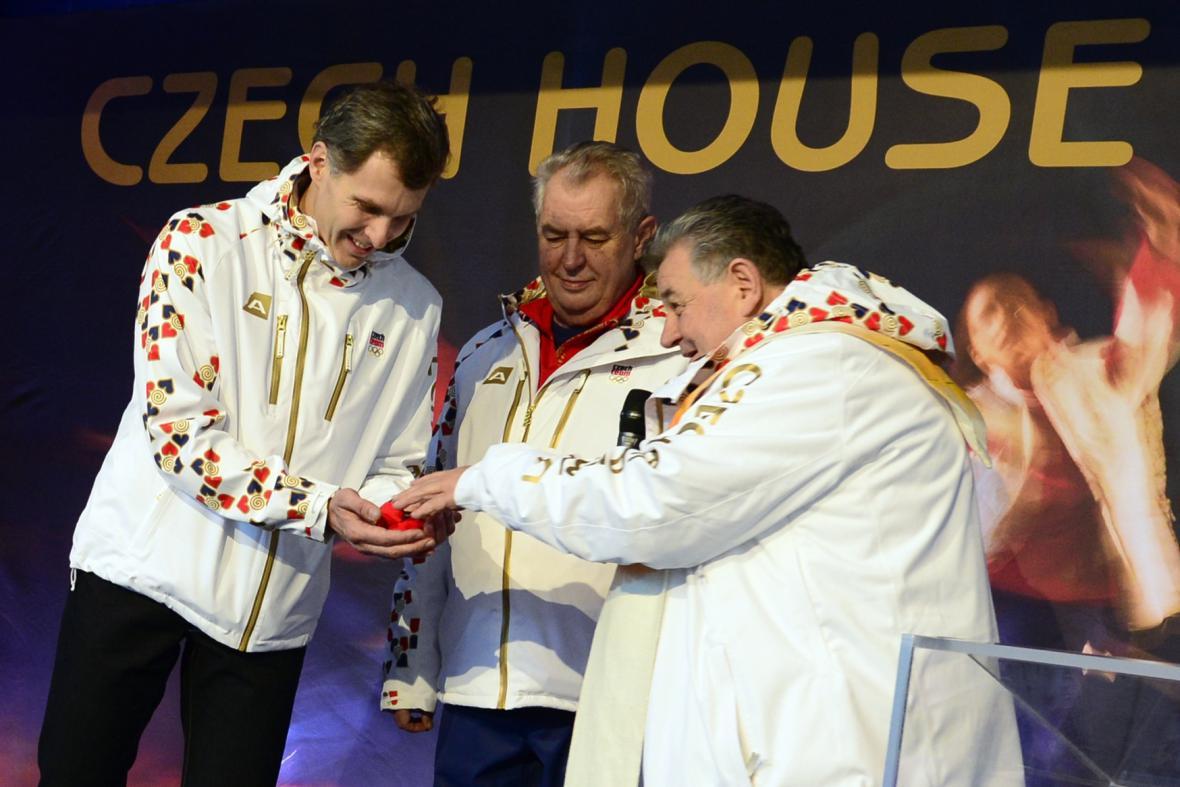Otevření českého domu v Soči
