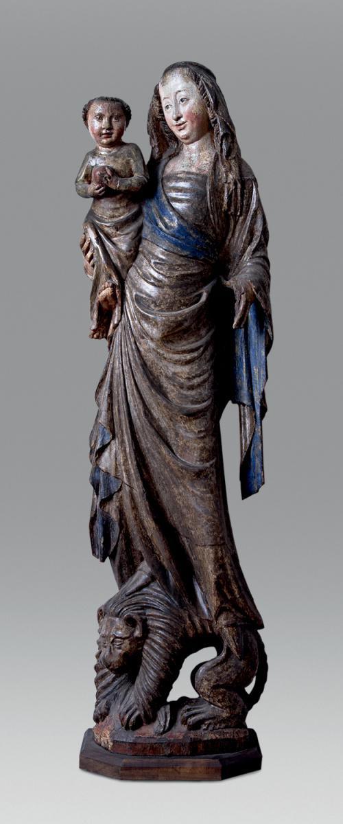 Gotické Madony na lvech