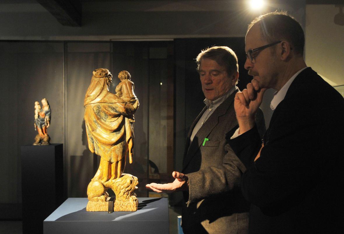Výstava Gotické Madony na lvu