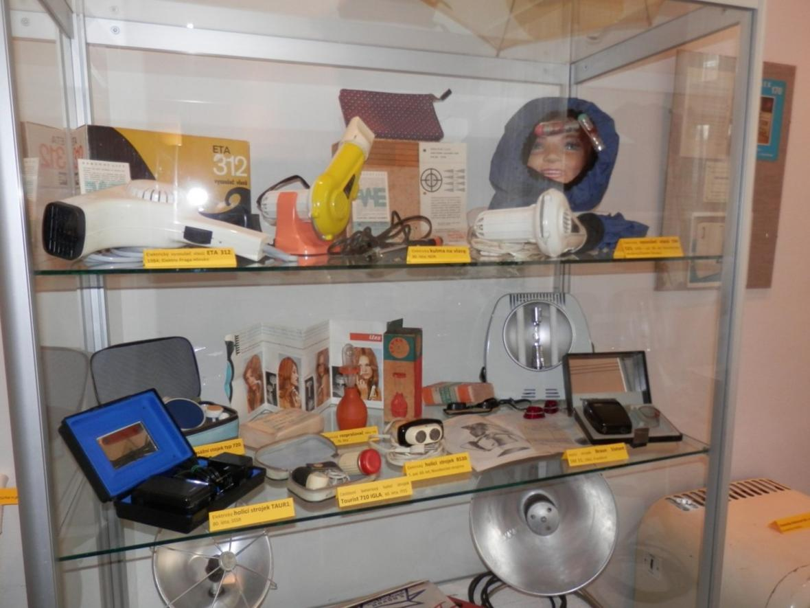 Retro výstava v lounském muzeu
