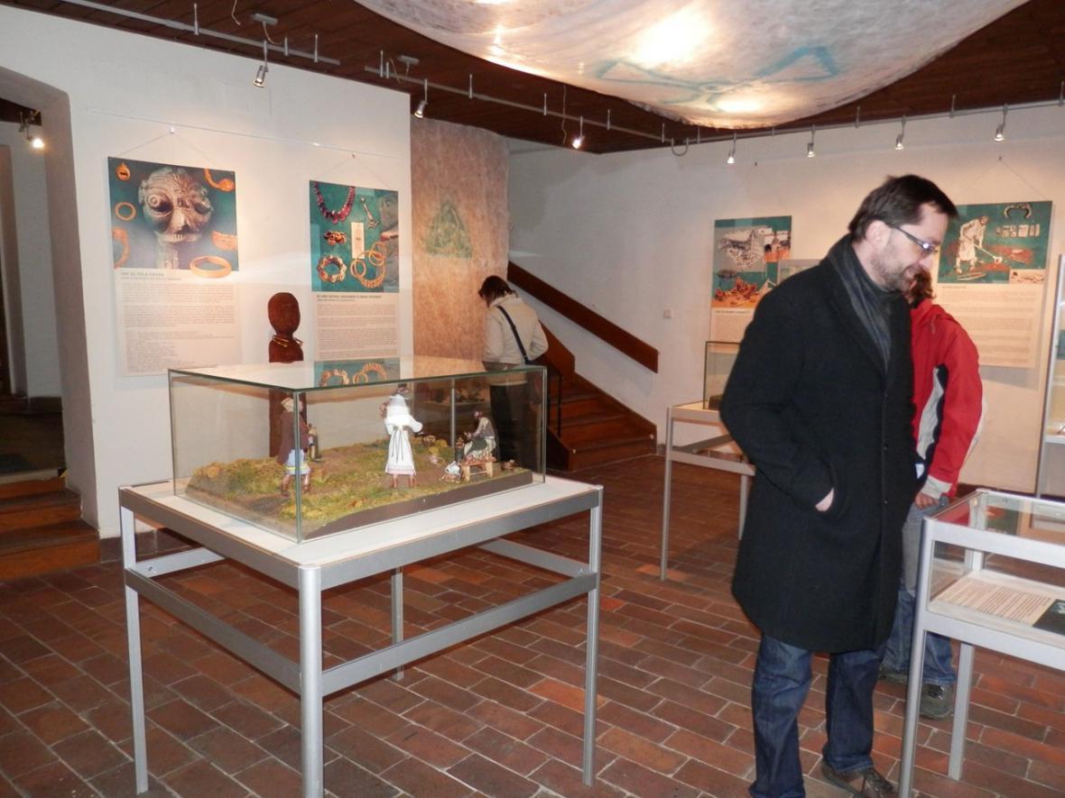 Výstava o keltských šperkařích v Lounech