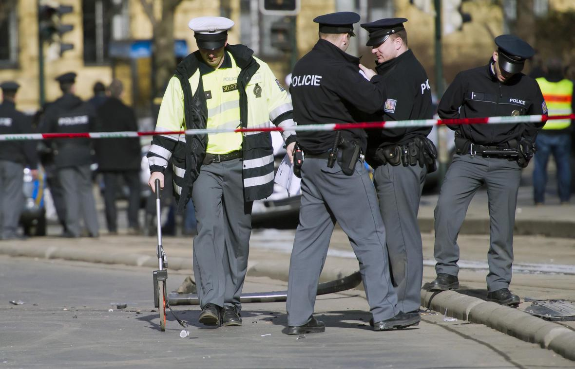 Policejní honička v centru Prahy