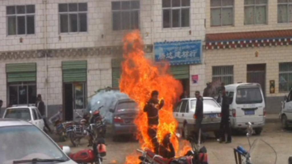 Bolestivá smrt Tibeťanů jako protest proti čínské nadvládě