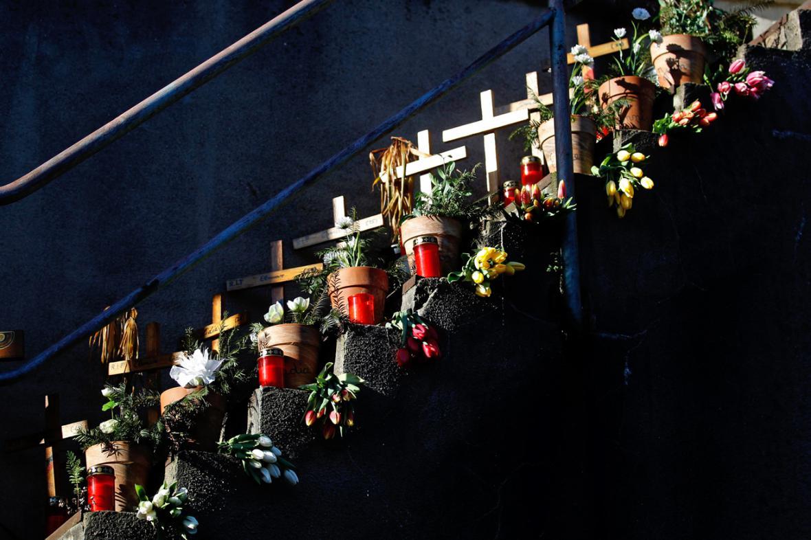 Vzpomínka na oběti duisburské Loveparade