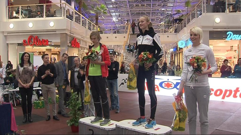 Vítězka Michaela Hrubá je velkou nadějí české atletiky