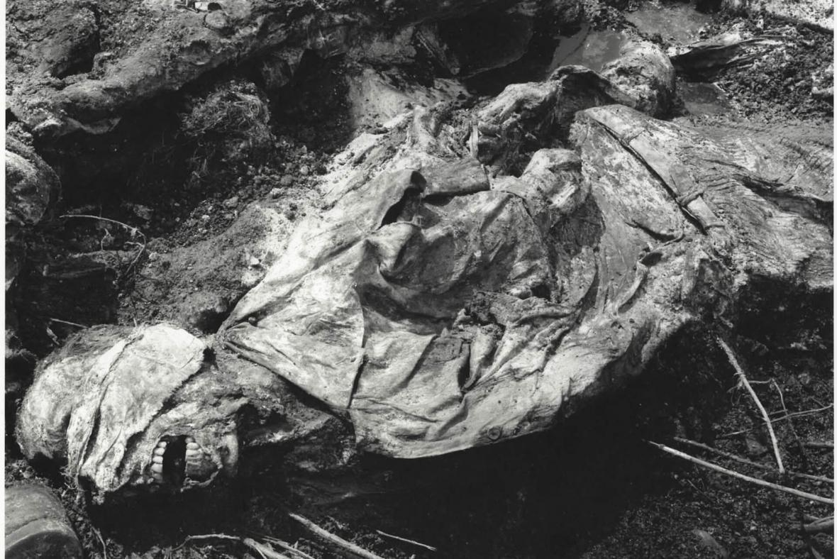 Oběť srebrenického masakru