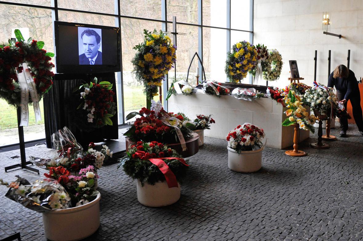 Pohřeb Vasila Biľaka