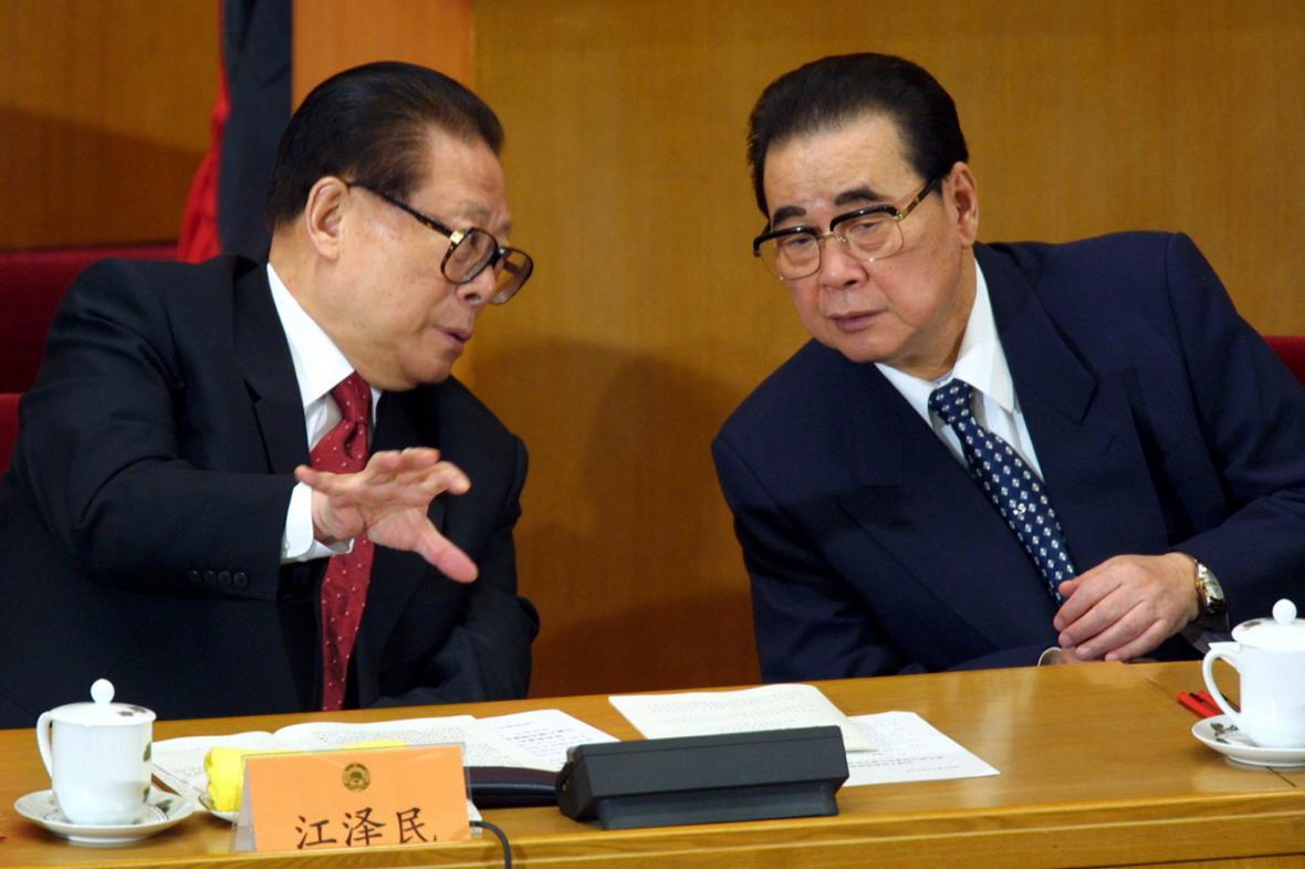 Ťiang Ce-min a Li Pcheng