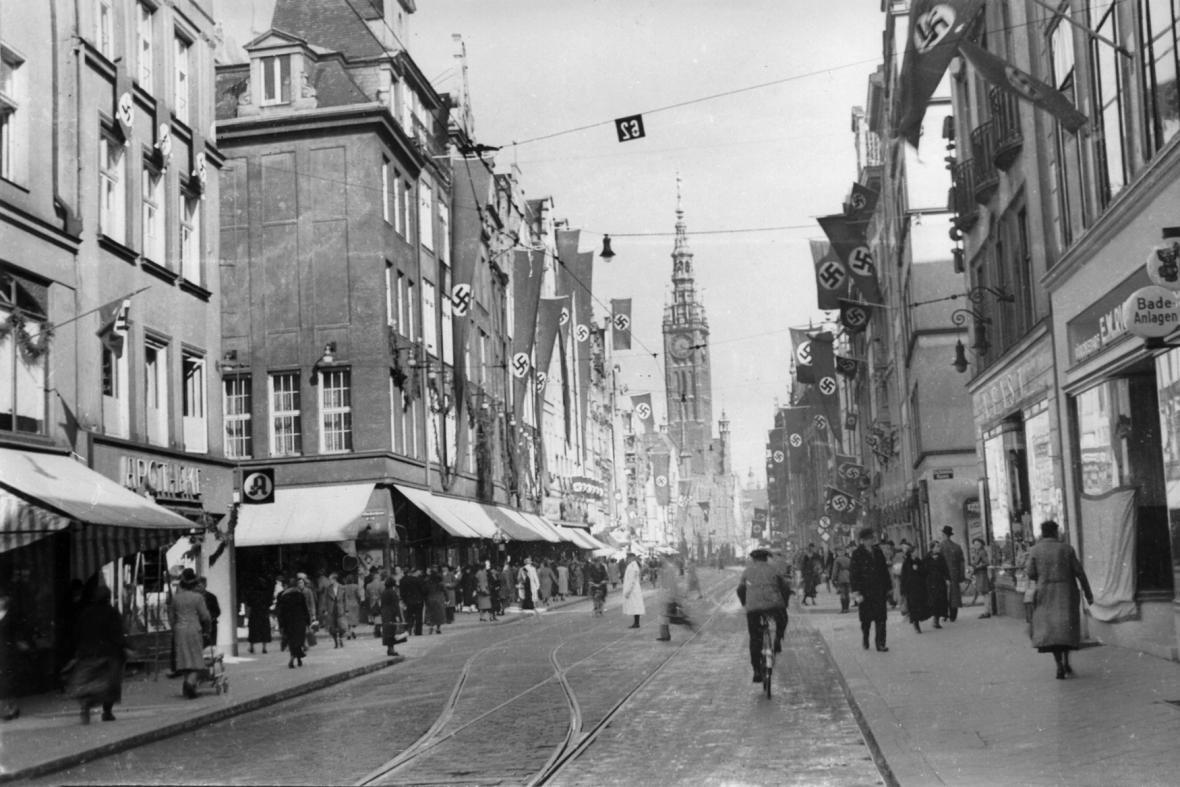 Gdaňsk v roce 1939