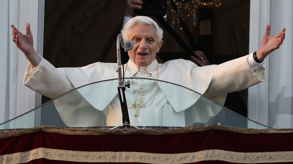 Poslední požehnání od Benedikta XVI.