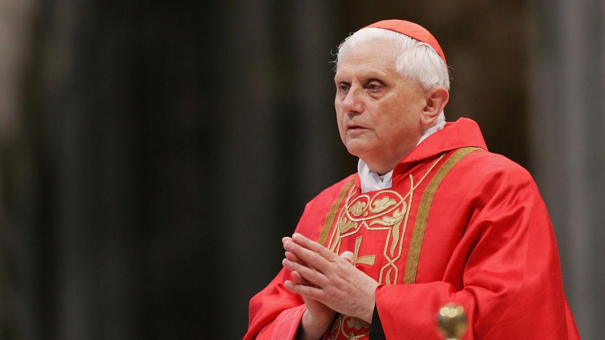 Kardinál Joseph Ratzinger