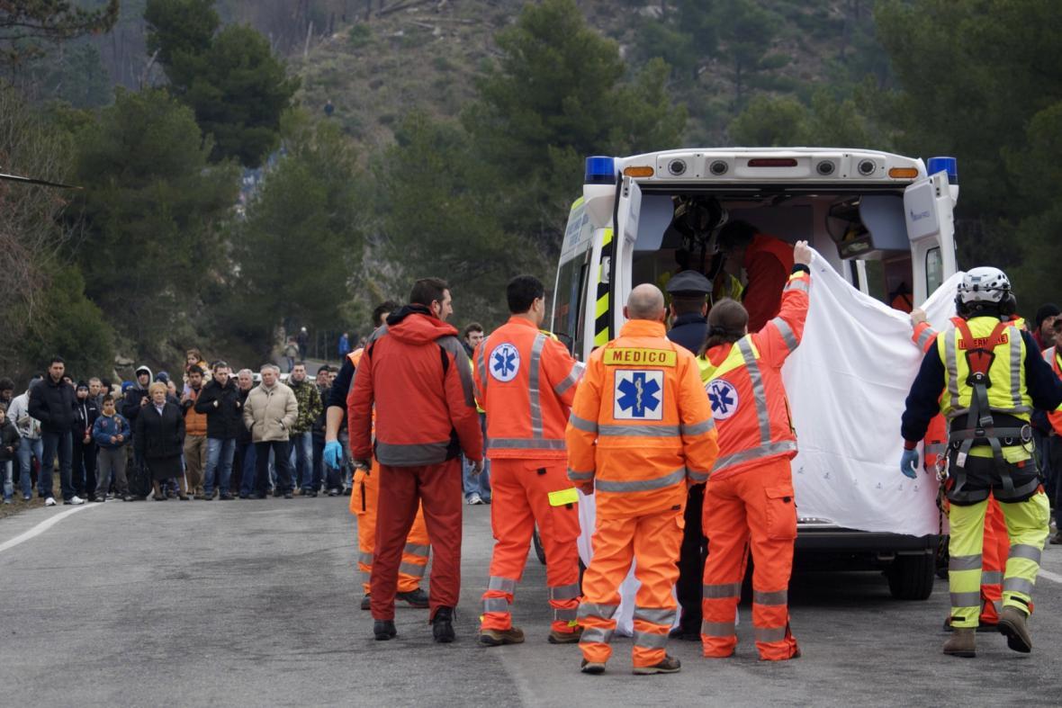Nehoda při rallye