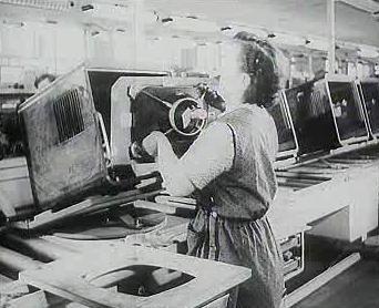 Výroba televizorů