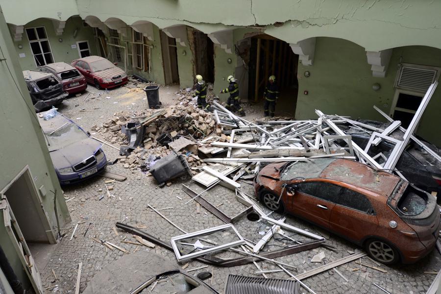 Oběť výbuchu v Divadelní ulici