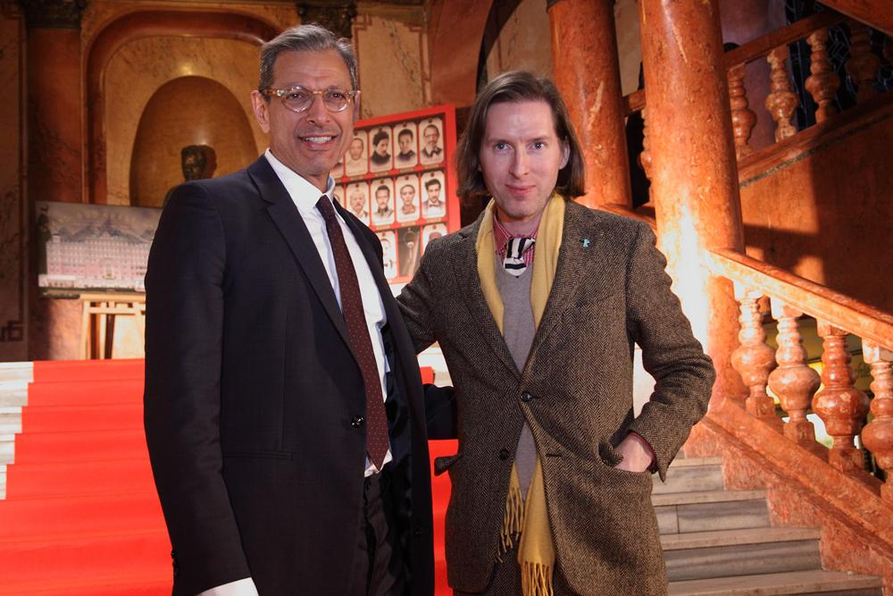 Wes Anderson a Jeff Goldblum