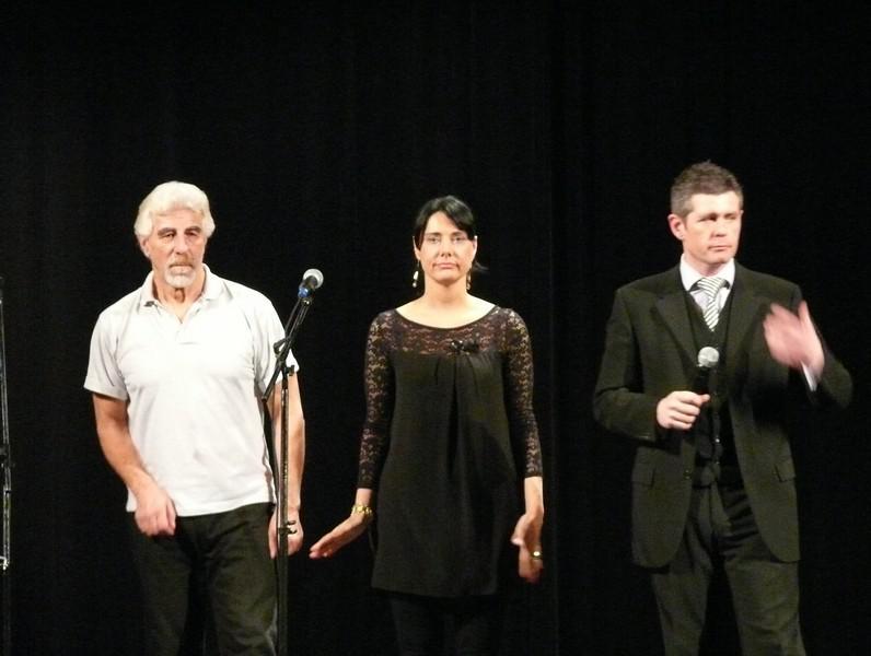 Z hudebně-zábavného večera v Horních Beřkovicích