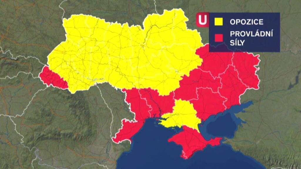 Ukrajinci rozhodně nejsou jednotní