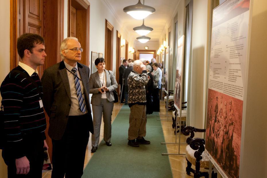 Slavnostní zahájení výstavy 100 let Československých legií