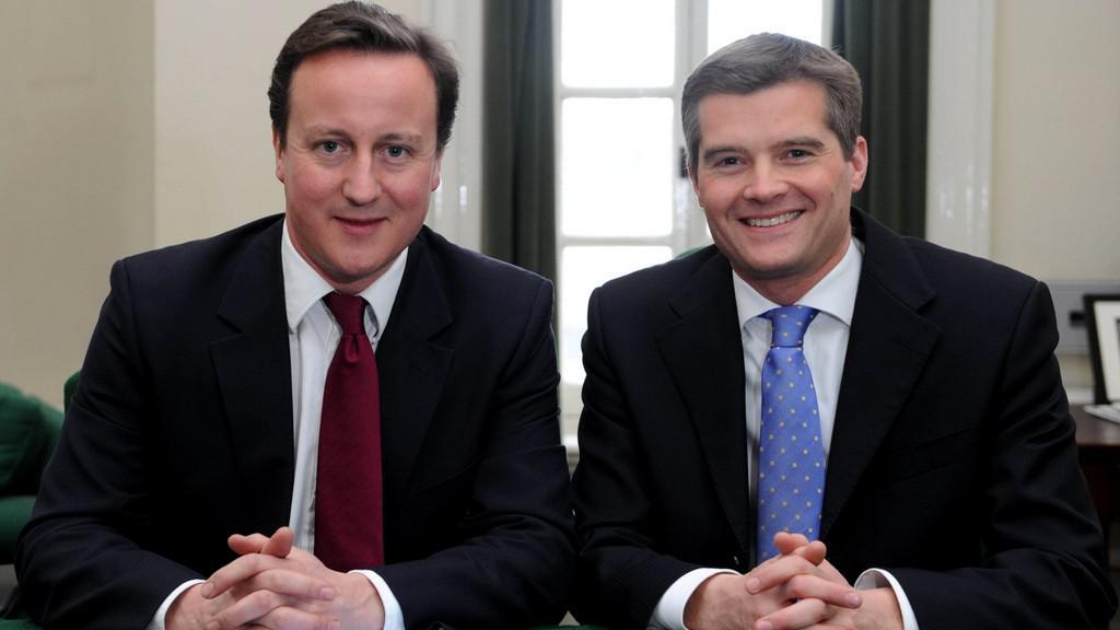 David Cameron a Mark Harper