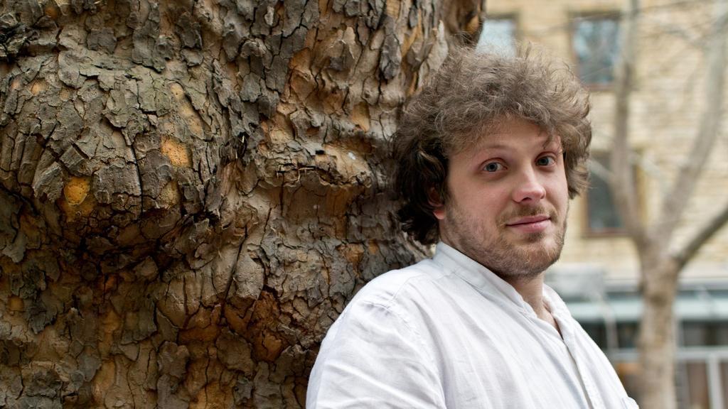 Aktivista Matěj Hollan