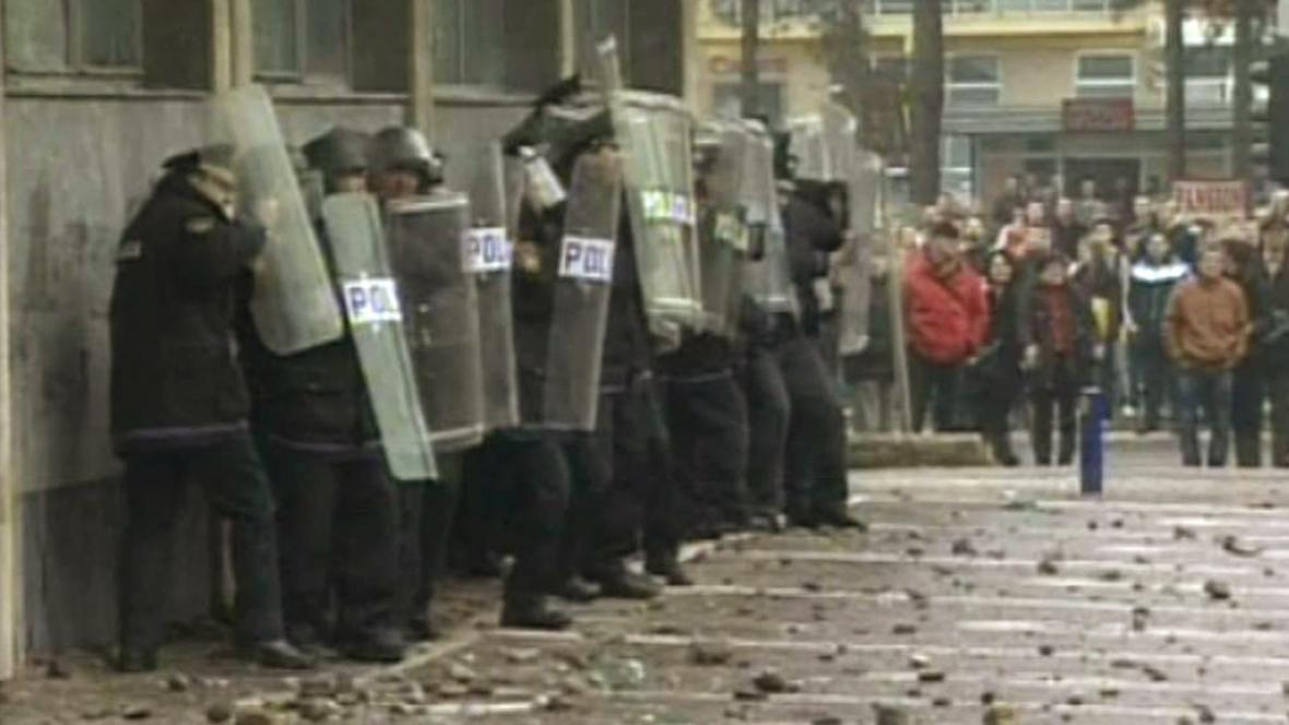 Nepokoje v Bosně