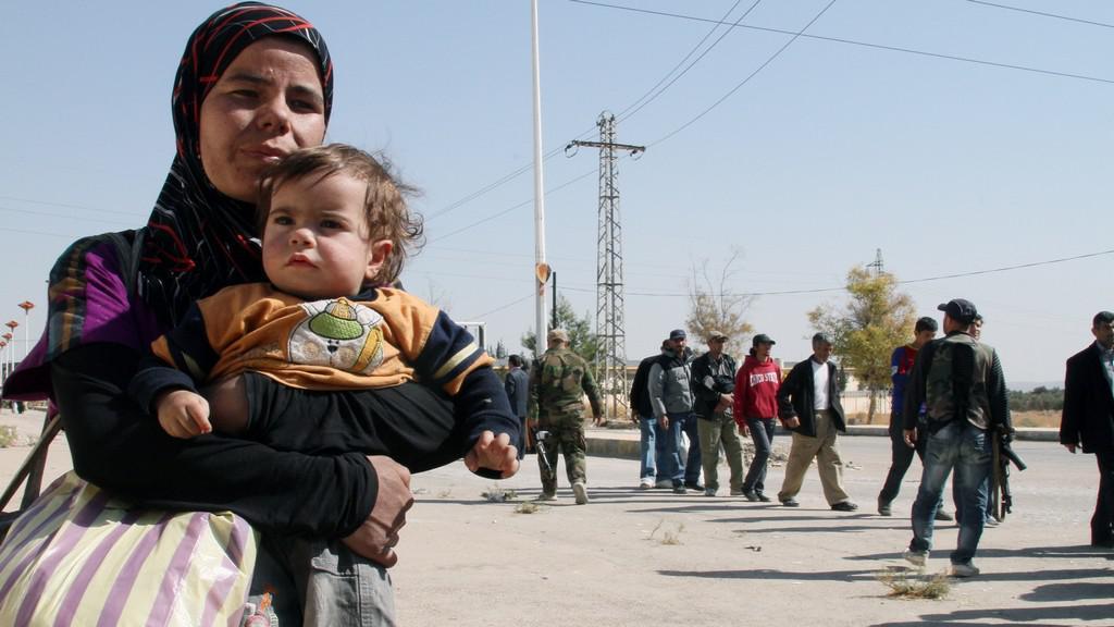 Evakuace v Sýrii