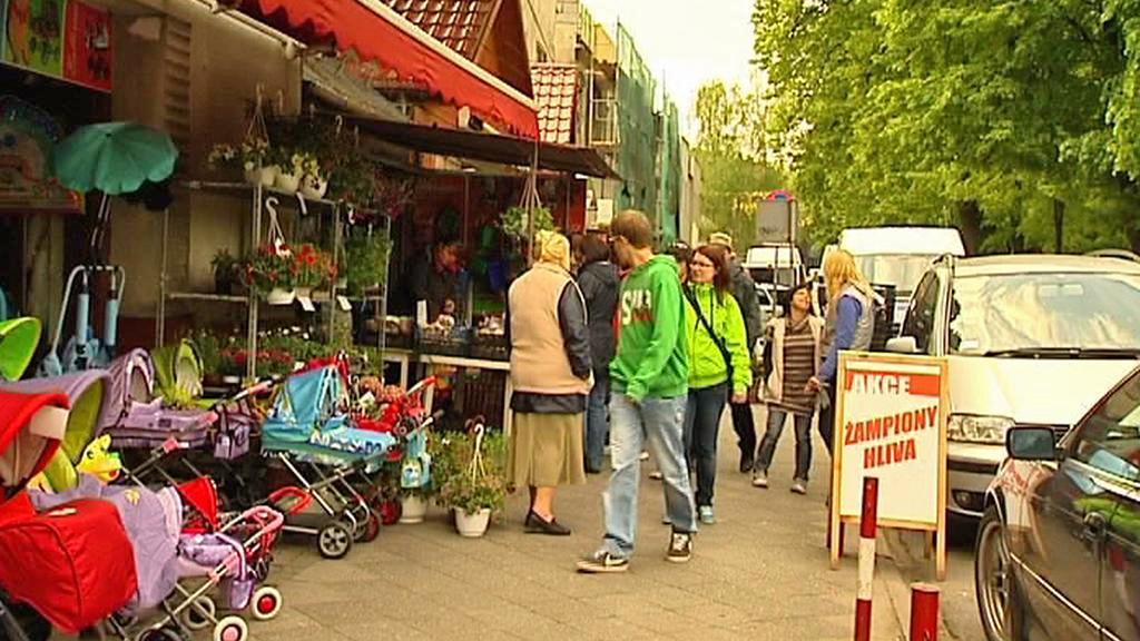 Tržnice v polském Těšíně