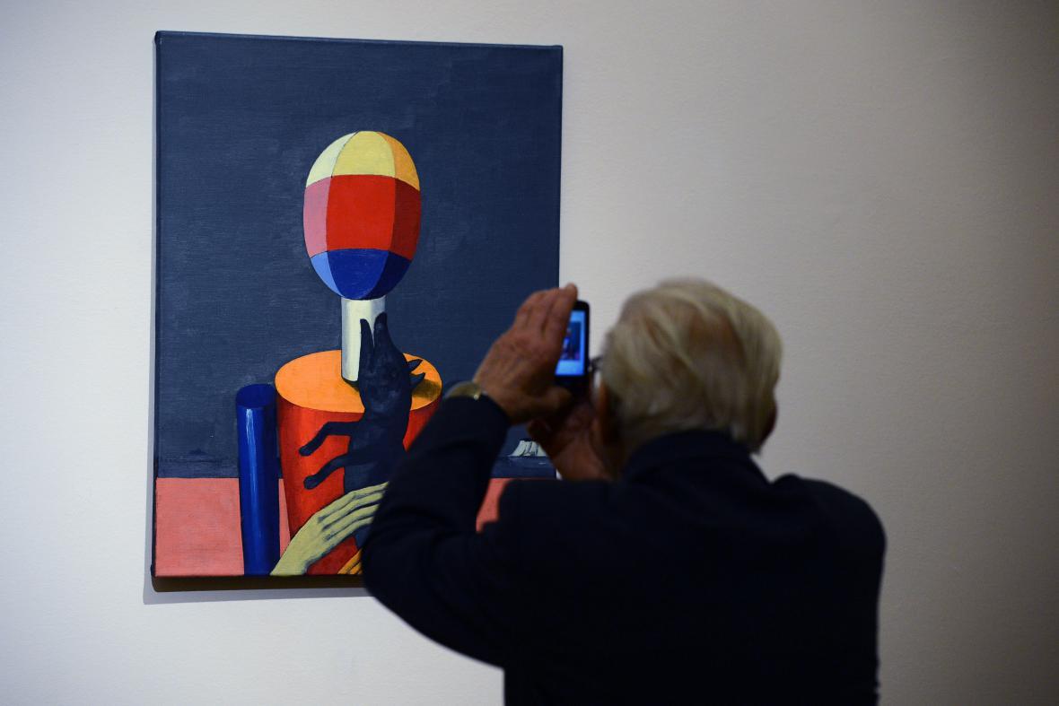 Výstava obrazů Geda Quinna a Viktora Pivovarova