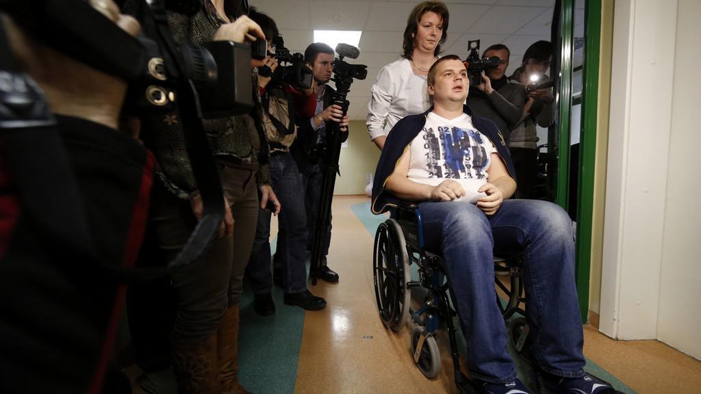 Dmytro Bulatov promluvil o mučení