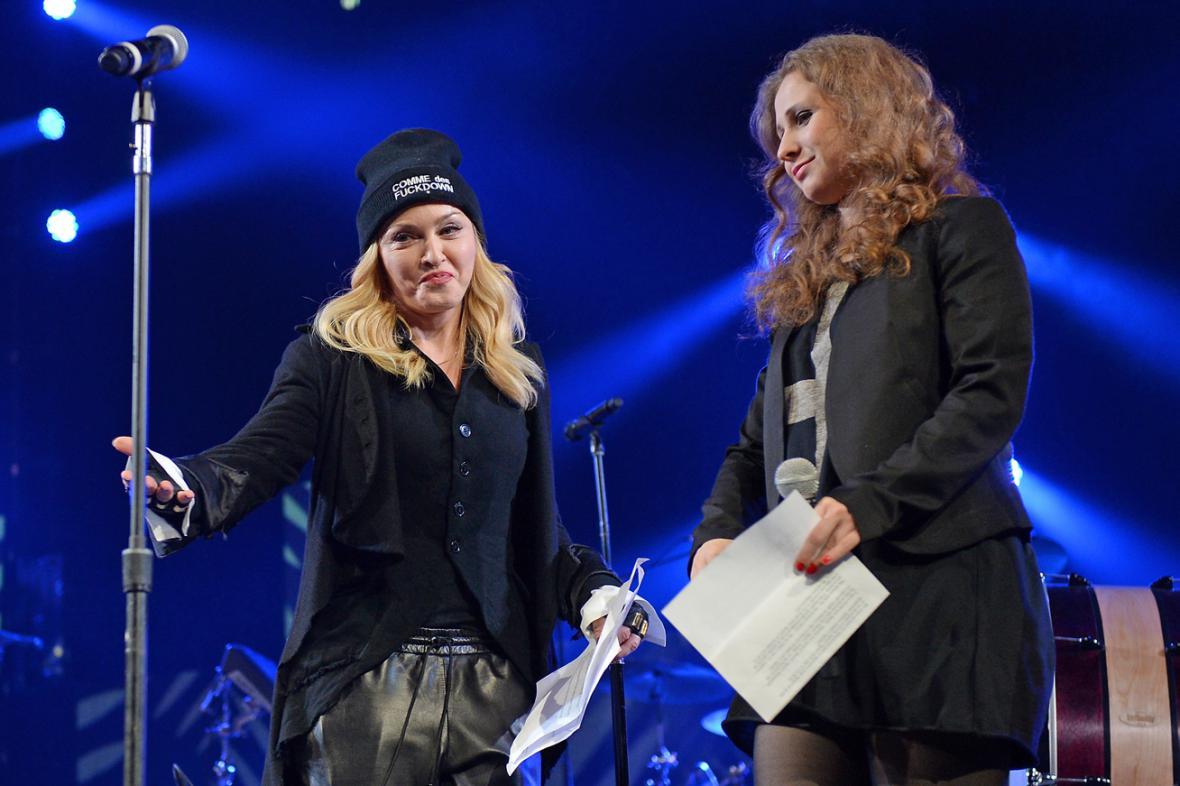 Madonna a Marija Aljochinová